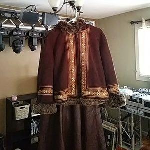 Designer coat